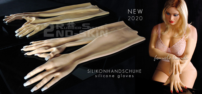 Rubbersisters / 2nd-skin Newsletter 2020/08 2nd-Skin Silicone Gloves