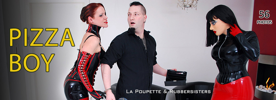 Rubbersisters / 2nd-skin Newsletter 2020/11 Pizzaboy Update