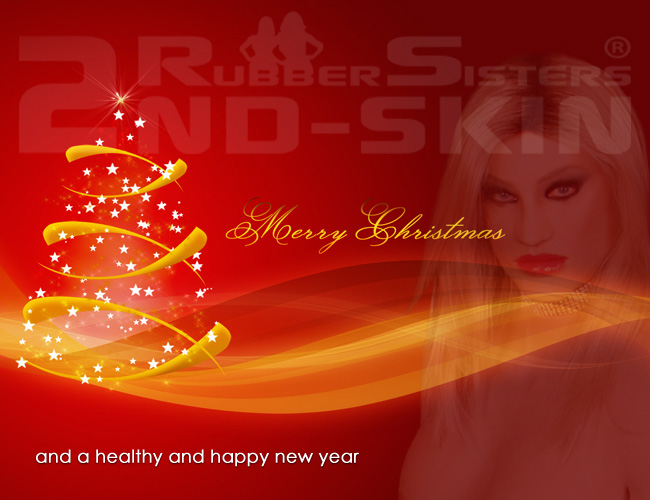 Rubbersisters / 2nd-skin Newsletter 2020/12 2nd-Skin Merry Christmas