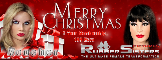 Rubbersisters / 2nd-skin Newsletter 2020/12 Rubbersisters 1 Year Voucher