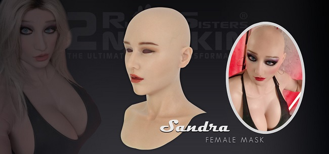 Rubbersisters / 2nd-skin Newsletter 2021/04 2nd-Skin Female Mask Sandra