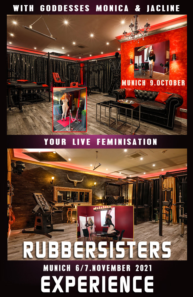 Rubbersisters / 2nd-skin Newsletter 2021/09 Rubbersisters Experience 2021