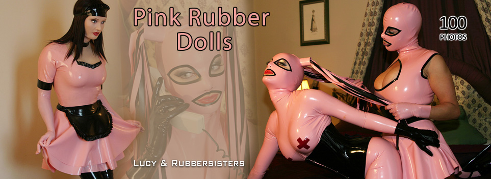 Pink Rubber Dolls